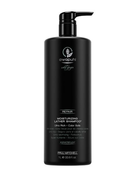 Paul Mitchell Awapuhi Wild Ginger Moisturizing Lather Shampoo 1000 ml   Hair & Style - Onlineshop