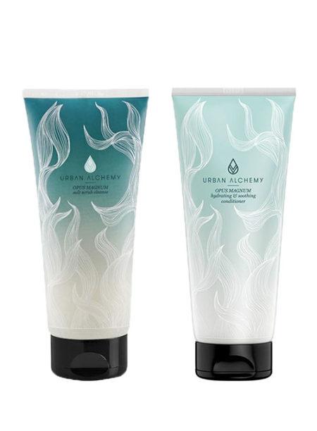 OPUS MAGNUM salt scrub + conditioner set   Hair & Style - Onlineshop
