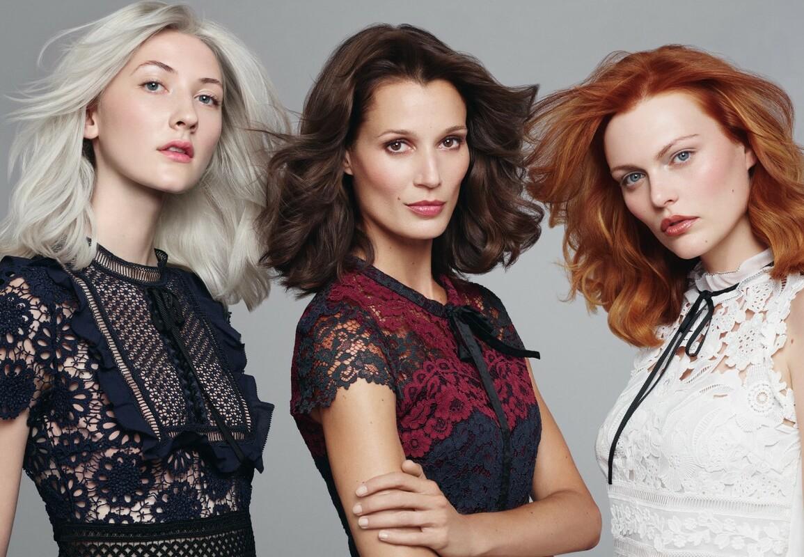 Hier zu sehen sind verschiede Varianten der Goldwell Colorance Haartönung bei Hair&Style Altbach