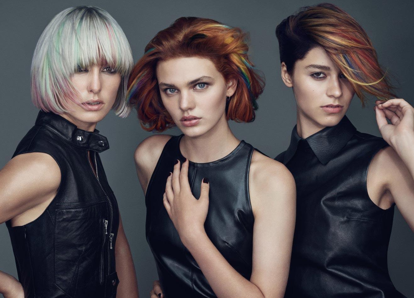 Verschiedene Varianten der Goldwell Elumen Haarfarbe | Haare färben in Stuttgart bei Hair&Style Altbach